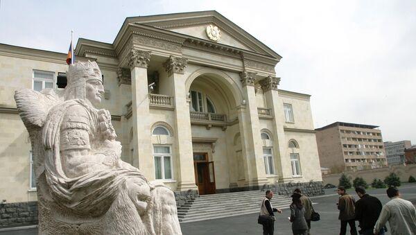 Дворец президента Армении в Ереване. Архив
