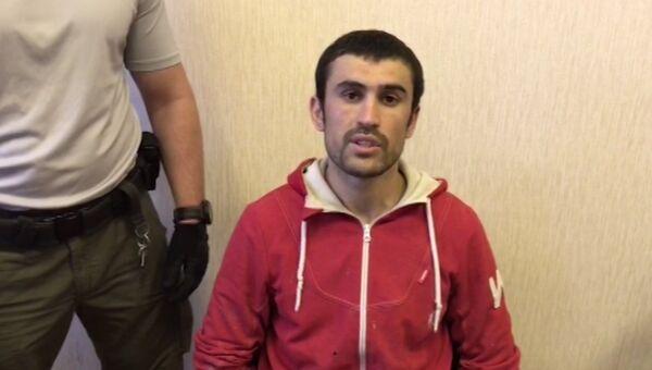 Оперативное видео допроса задержанных за подготовку терактов 1 сентября