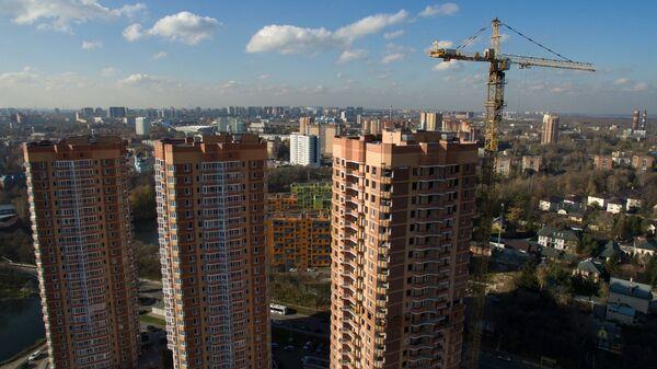 Строительство жилых домов в городе Химки