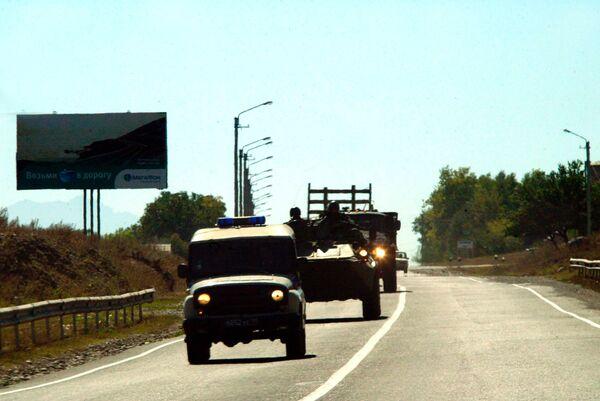 Восемь милиционеров погибли при обстреле в Ингушетии - МВД