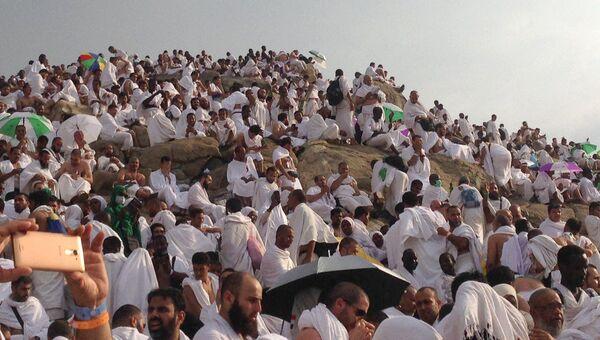Гора Арафат близ Мекки в Саудовской Аравии
