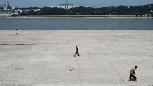 В центре Пхеньяна