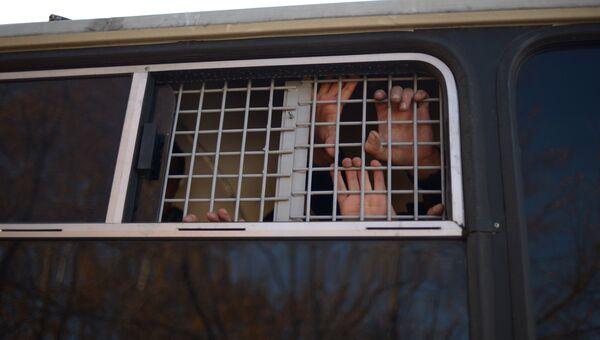 Задержанные. Архивное фото