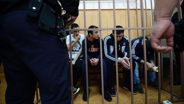 Обвиняемые по делу о теракте в метро Санкт-Петербурга. Архивное фото