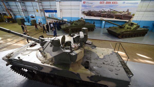 Сборка БМД-4М для ВДВ на волгоградском тракторном заводе. Архивное фото