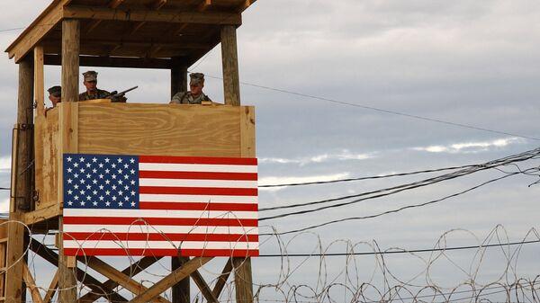 Военная база X-ray Camp, Гуантанамо, Куба. Архивное фото
