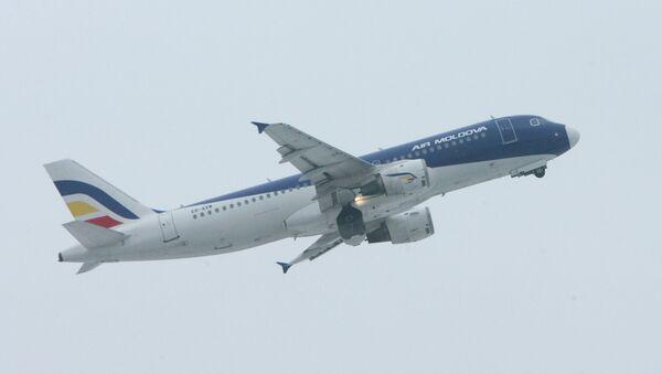 Самолет авиакомпании Air Moldova. Архивное фото