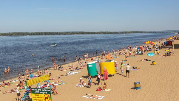 Городской пляж. Архивное фото