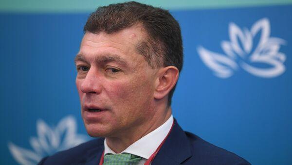 Министр труда и социальной защиты Российской Федерации Максим Топилин. Архивное фото