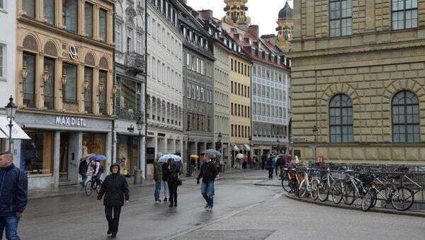 В Мюнхене. Архвиное фото
