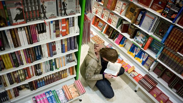 В книжном магазине. Архивное фото