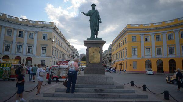 Памятник Дюку де Ришелье в Одессе