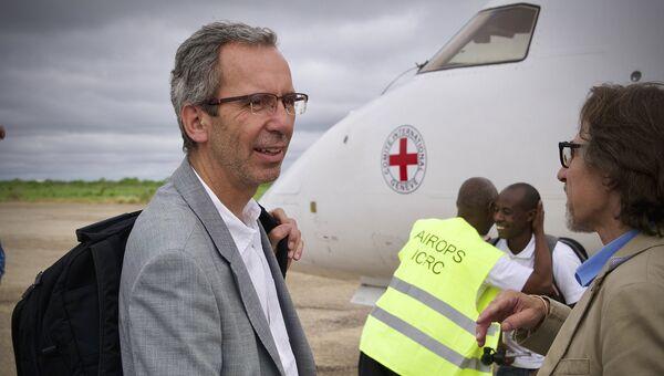 Директор МККК по операциям в мире Доминик Штилхарт