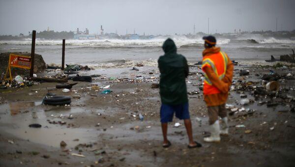 Ураган Ирма в Доминиканской республике
