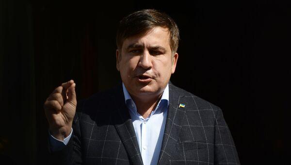 Михаил Саакашвили. Архивное фото.