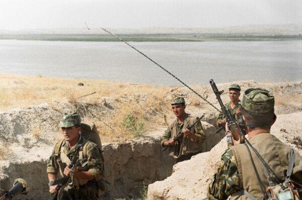 Военнослужащие в Таджикистане. Архив
