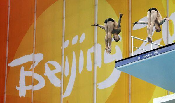 Российские прыгуны в воду Глеб Гальперин и Дмитрий Доброскок выиграли бронзу