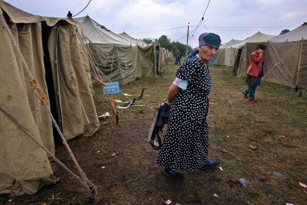 Беженцы из Цхинвали