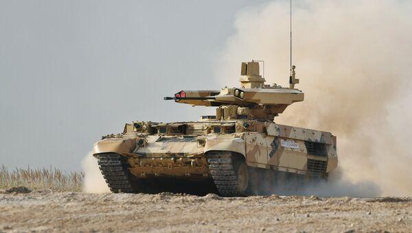 Боевая машина огневой поддержки БМПТ Терминатор-3