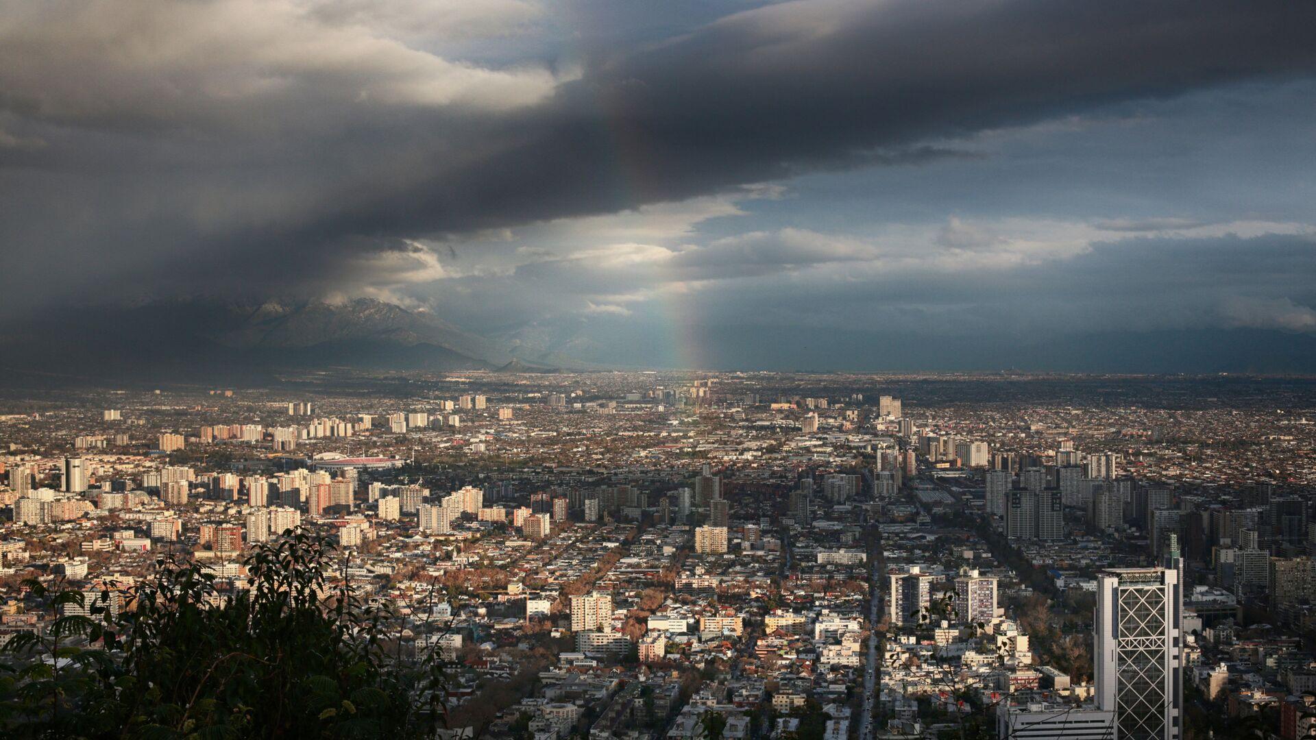 Столица Чили, город Сантьяго - РИА Новости, 1920, 24.01.2021