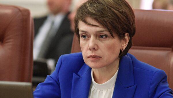 Министр образования и науки Украины Лилия Гриневич. Архивное фото