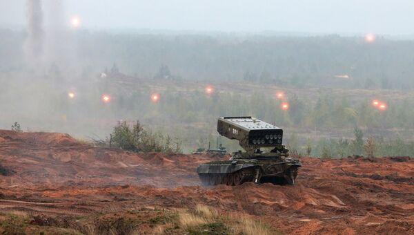 Совместные стратегические учения Запад-2017 вооружённых сил России и Белоруссии. 18 сентября 2017