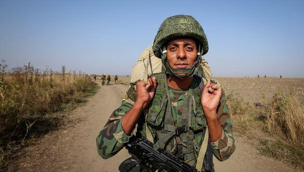 Военнослужащий вооруженных сил Египта. Архивное фото