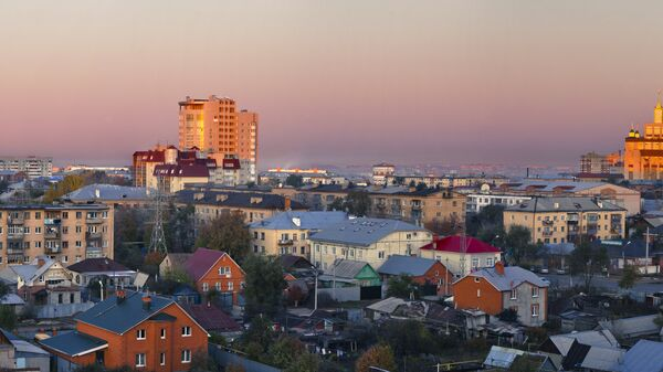 Города России. Оренбург
