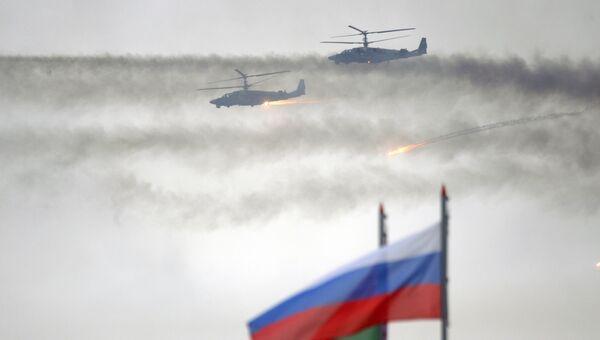 Совместные военные учения России и Белоруссии. Архивное фото