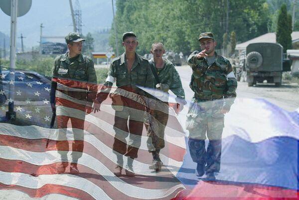 Военные, Россия, США