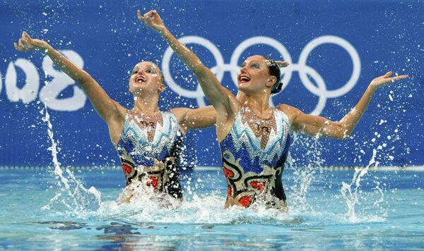 Анастасия Давыдова и Анастасия Ермакова выиграли золото Олимпийских игр в синхронном плавании