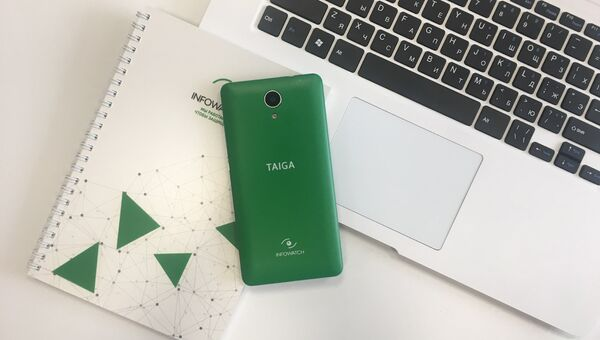 Смартфон Taiga, выпущенный компанией InfoWatch