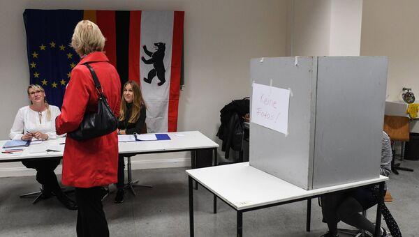 Голосование в Германии. Архивное фото