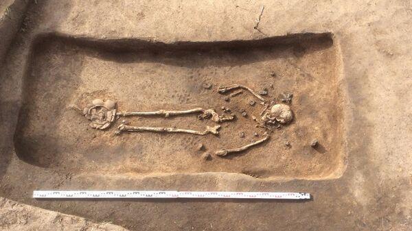 Погребение молодой женщины, найденное в Суздальском Ополье