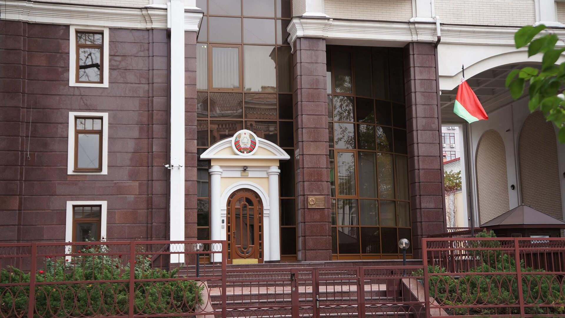 Посольство Республики Беларусь в Киеве  - РИА Новости, 1920, 18.06.2021