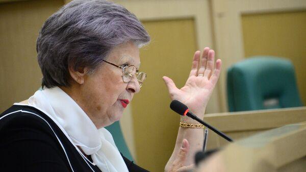 Сенатор Светлана Горячева