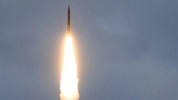 Пуск межконтинентальной баллистической ракеты. Архивное фото