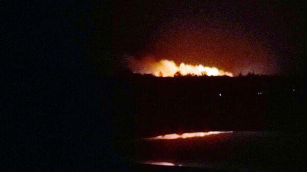 Пожар на военном складе под Винницей. 27 сентября 2017