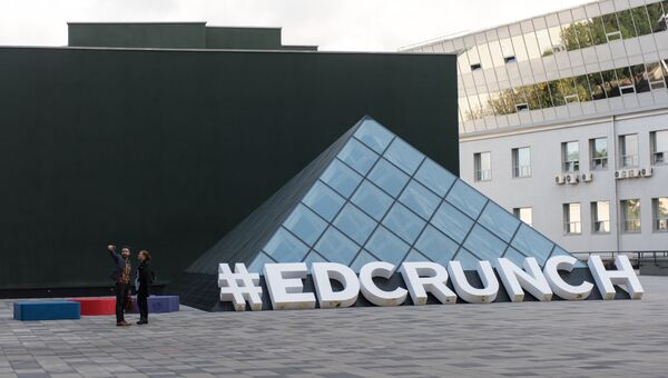 Логотип конференции #EdCrunch 2017