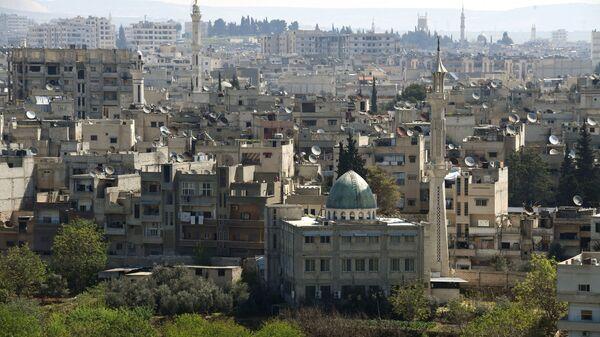 Сирийский город Хама