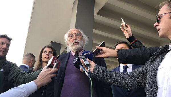 Адвокат гражданина России Александра Винника в Греции Александрос Ликурезос