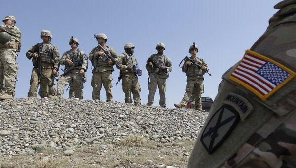 Американские солдаты. Архивное фото