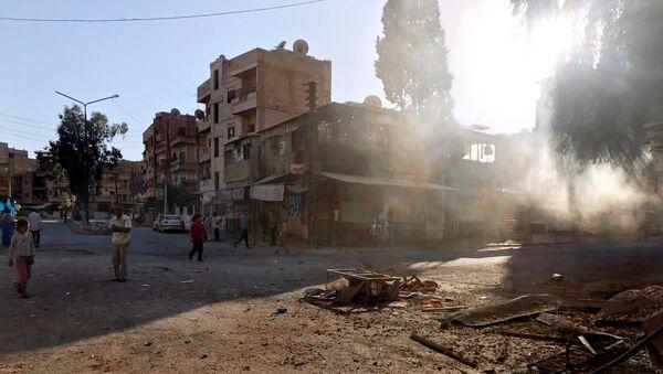 Квартал Аль-Кусур в сирийском Дейр-эз-Зоре. Архивное фото