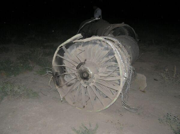Крушение самолета. Архив