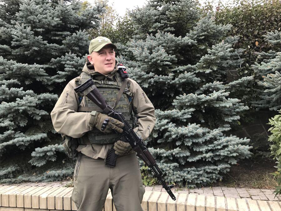 Командир отделения разведывательно-штурмового батальона Родион Граф-Сафонов, позывной Граф