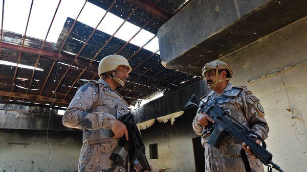 Военнослужащие Саудовской Аравии в округе Джизан. Архивное фото