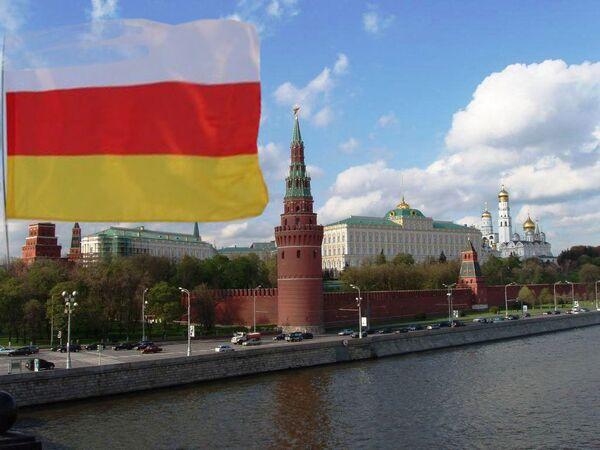 Кремль, флаг Осетии