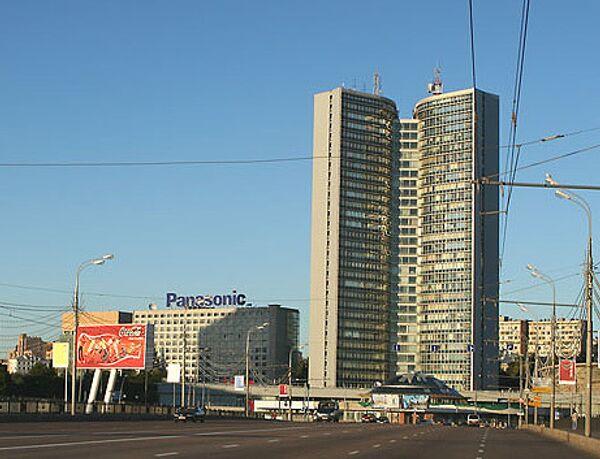 Здание правительства Москвы. Архив