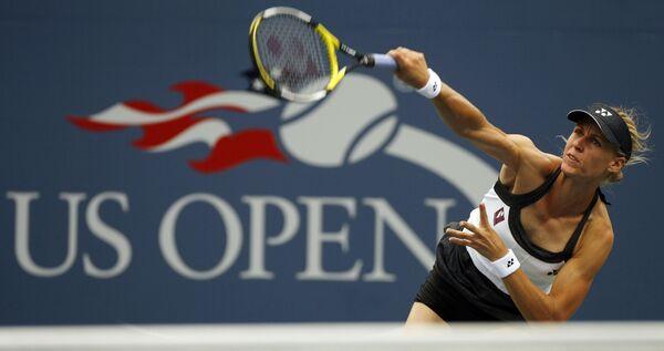 Елена Дементьева на Открытом чемпионате США по теннису