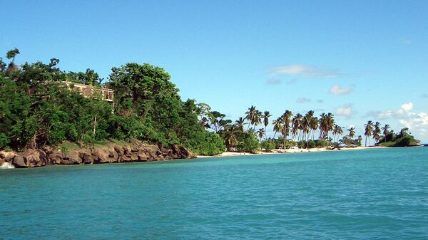 Остров Кайо Левантадо в Доминиканской Республике